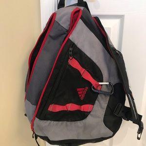 Adidas Load Spring Sling Bag Backpack Gym /School
